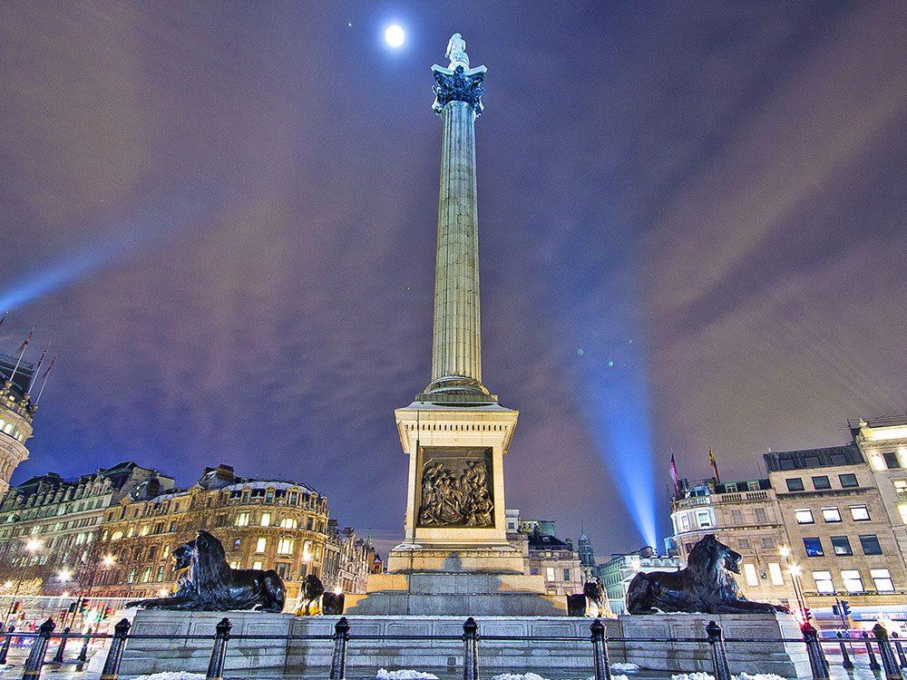 London attractions - Trafalgar Square