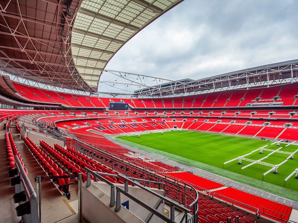 London attractions - Wembley Stadium