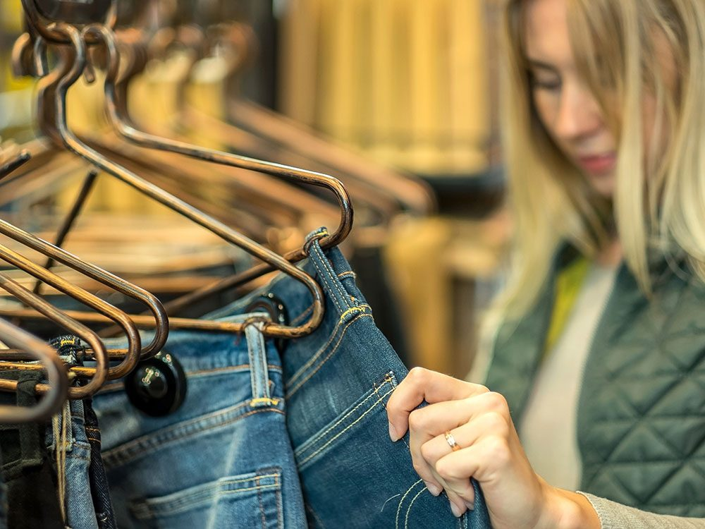 Mindful shopping for jeans