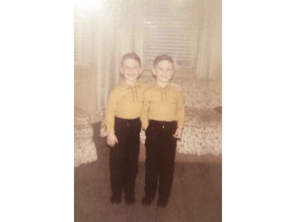 Siblings in 1960s