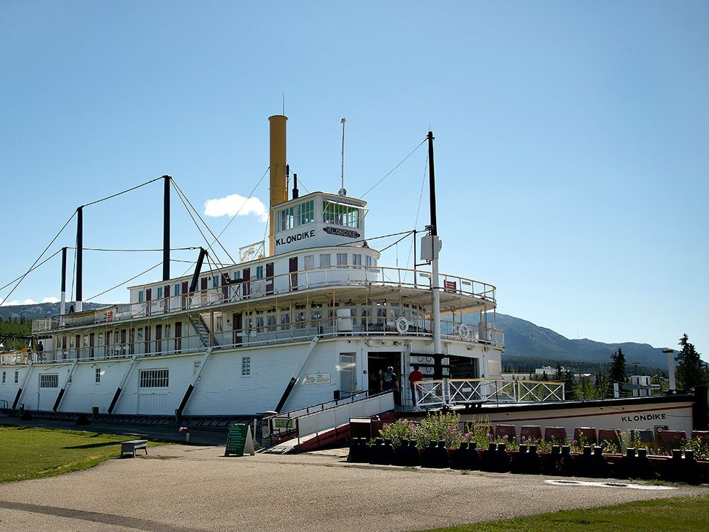 Best place in the Yukon - SS Klondike sternwheeler