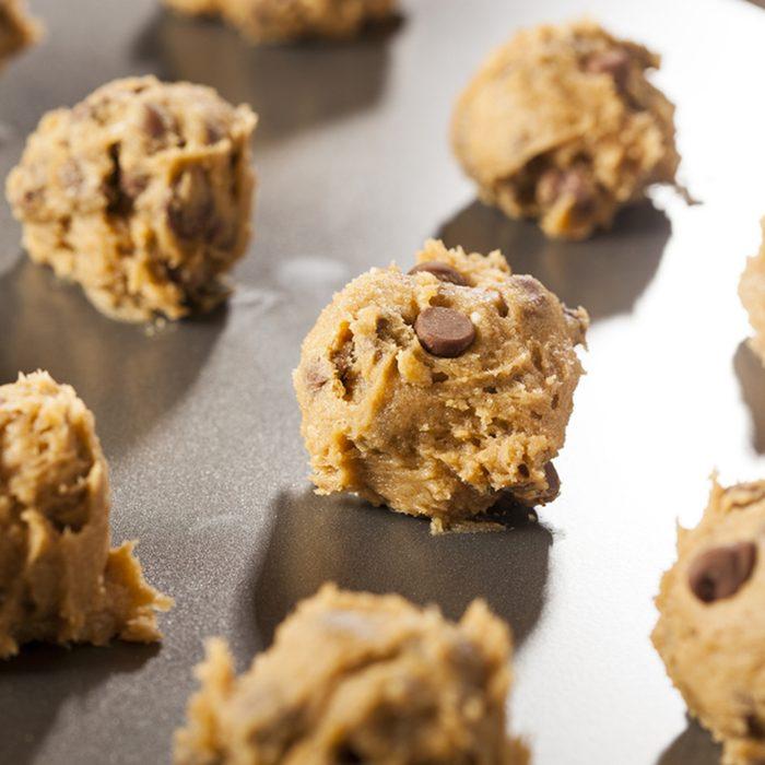Homemade Chocolate Chip Cookie Dough Ready to Bake; Shutterstock ID 161855624; Job (TFH, TOH, RD, BNB, CWM, CM): Taste of Home