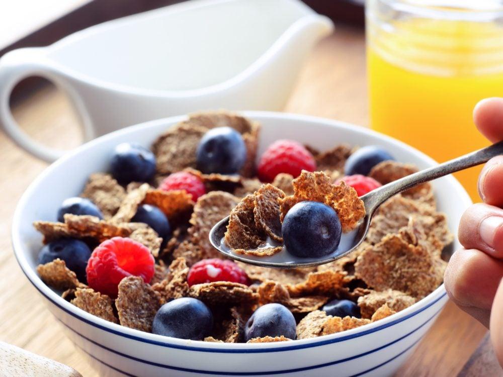 Healthy breakfast for a better sleep