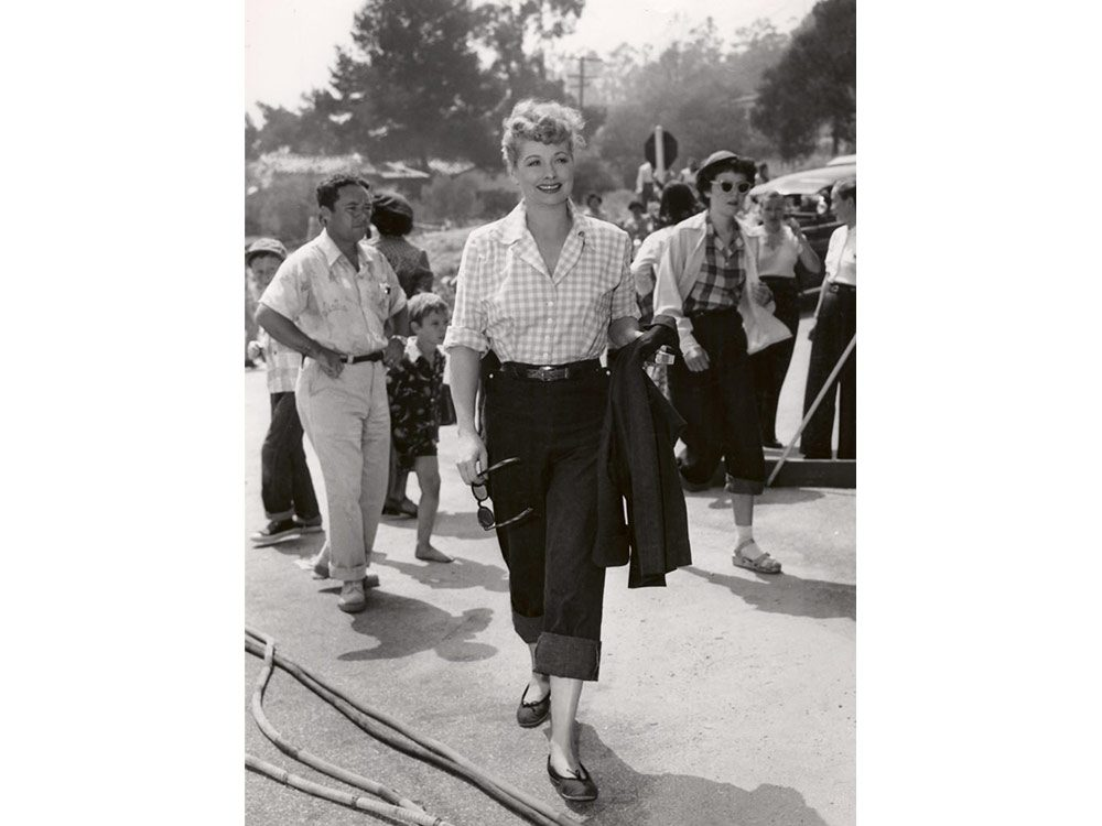 Lucille Ball in the 1950s