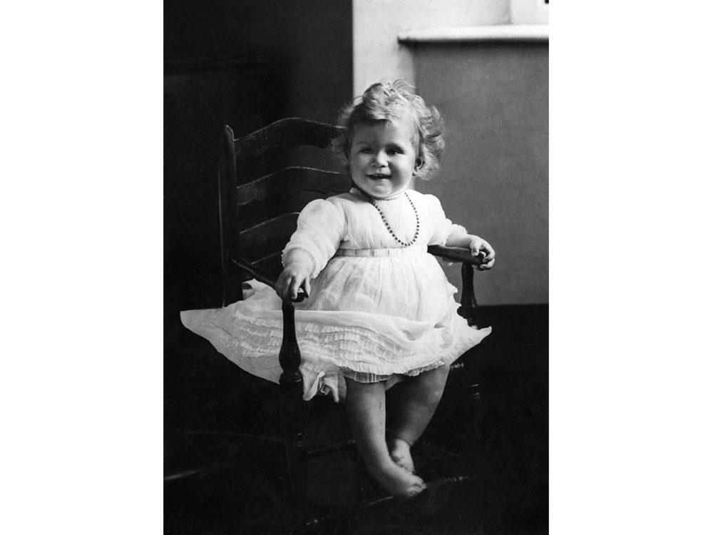 Queen Elizabeth II as a baby