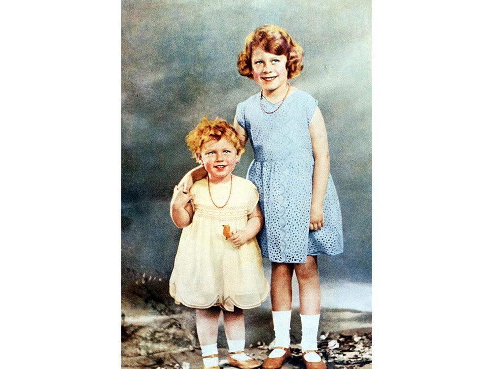 Princess Margaret as a child