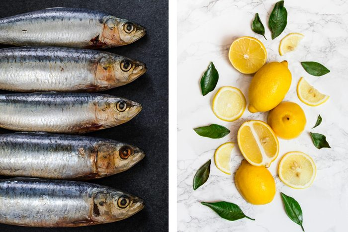 Get rid of odours - Fish smells pantry