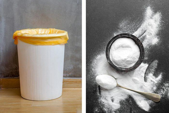 Get rid of odours - Garbage smells pantry