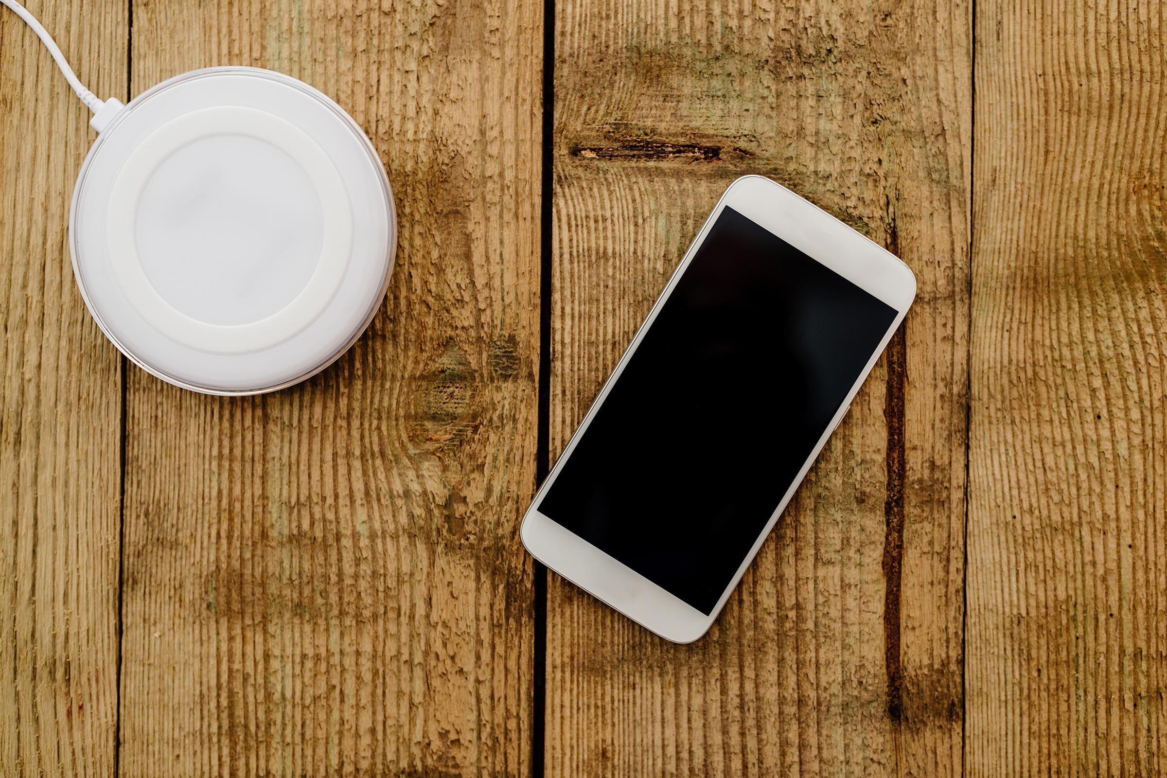 phone wireless charge pad