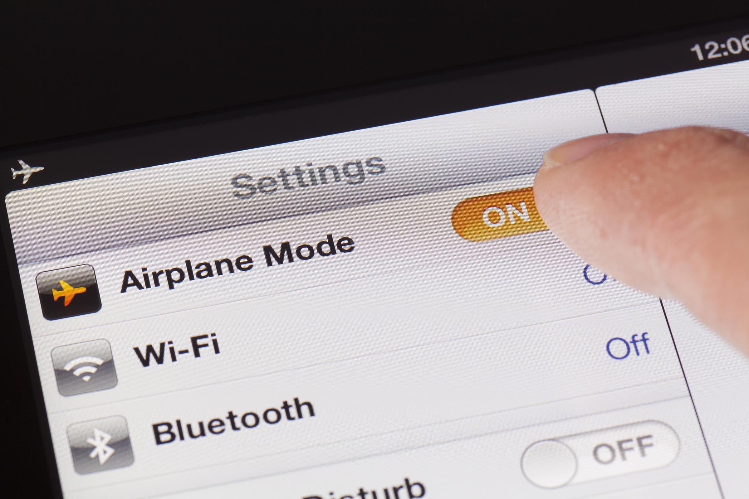phone airplane mode