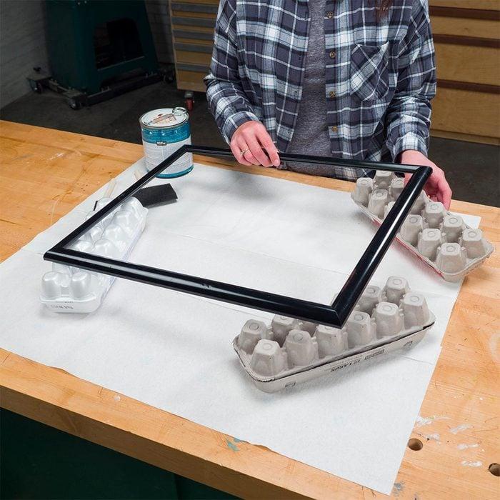 egg carton painting props
