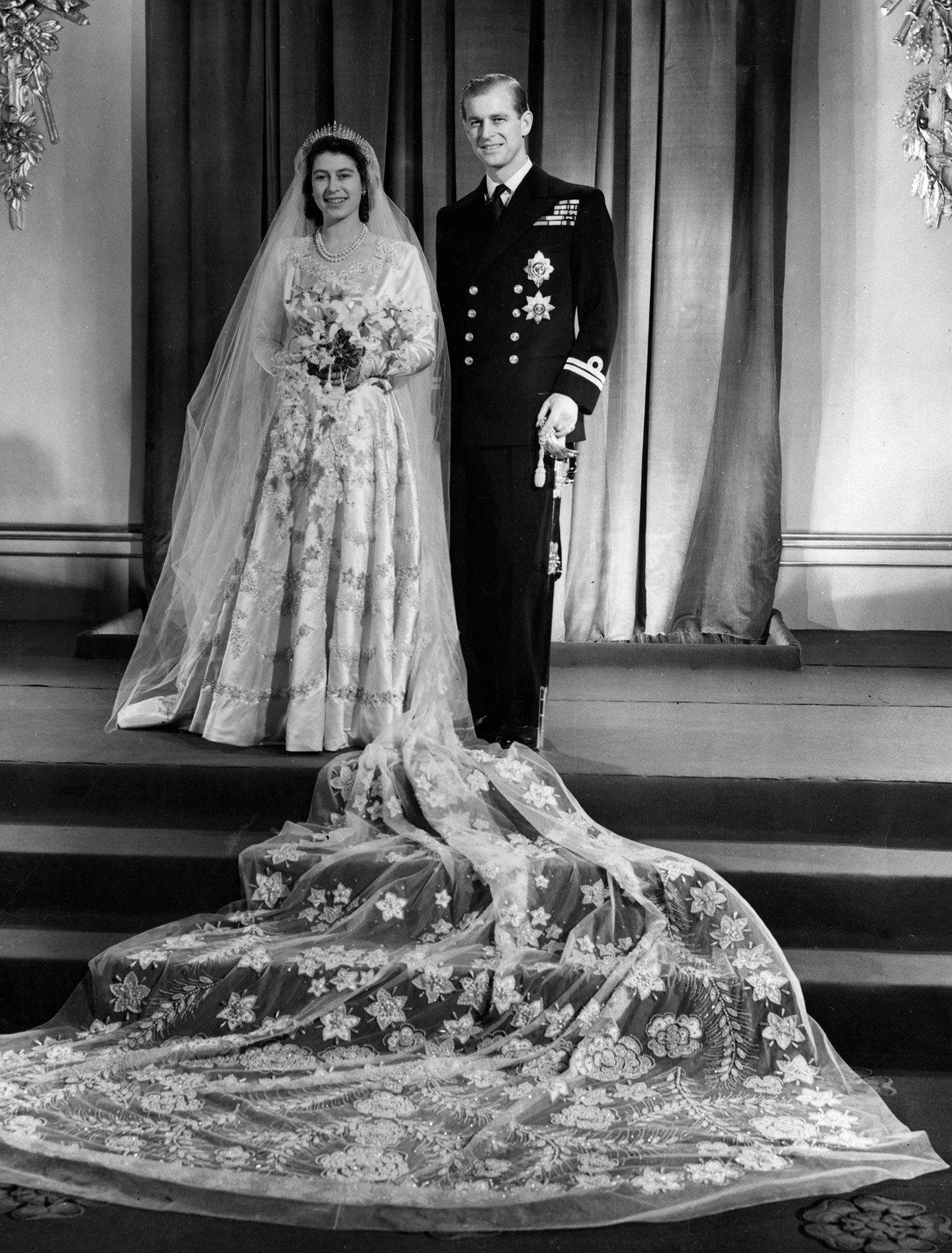 Queen Elizabeth II and Prince Philip marriage