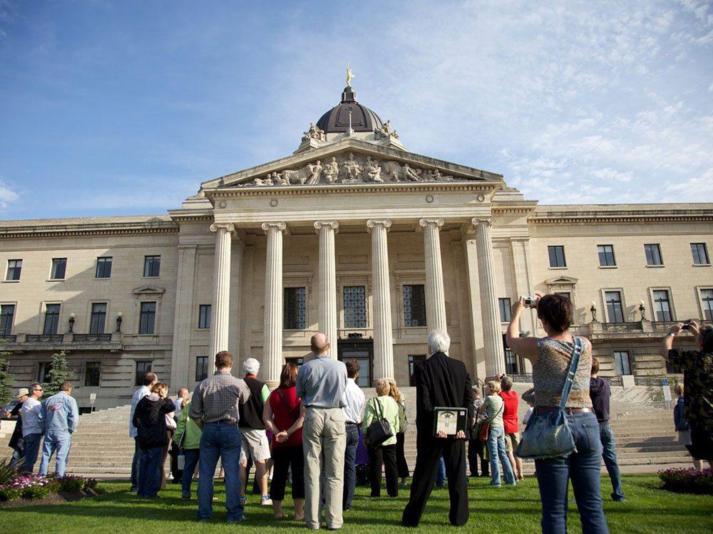 Canadian attractions - Manitoba legislative building mysteries