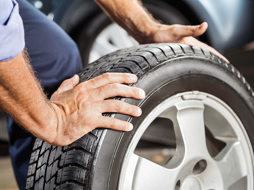 How to maintain car tires