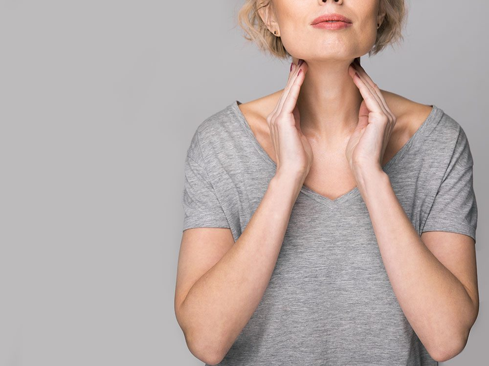 Hyperactive thyroid could be making you sweat