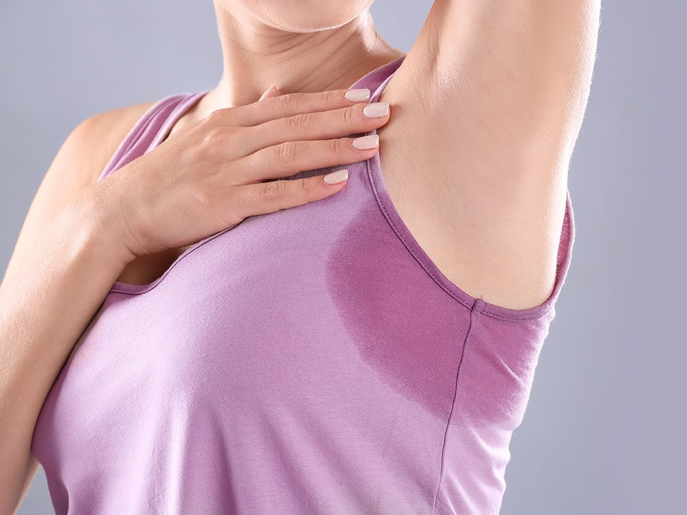 Hyperhidrosis could be making you sweat