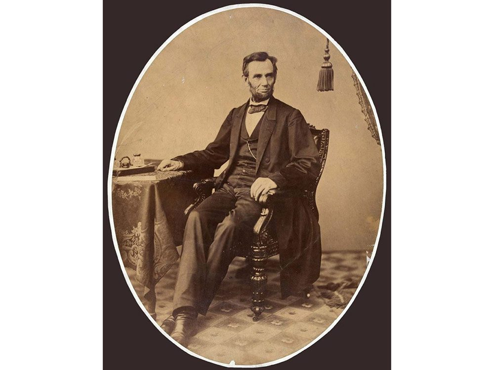 Iconic photos: Abraham Lincoln