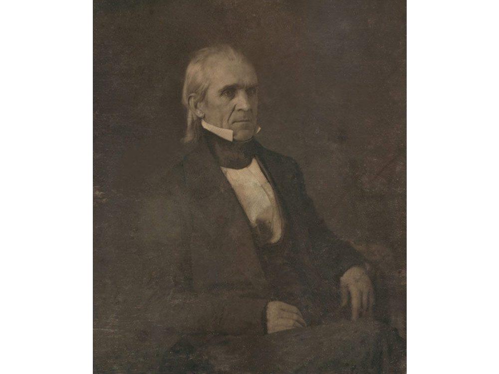 Iconic photos: James K. Polk
