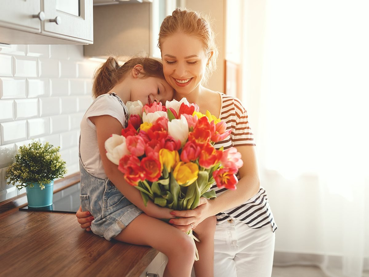 Mother's Day quotes - gift of flowers