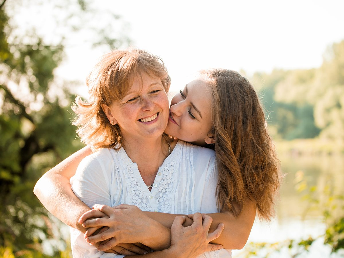 Mother's Day quotes - mother and daughter hugging