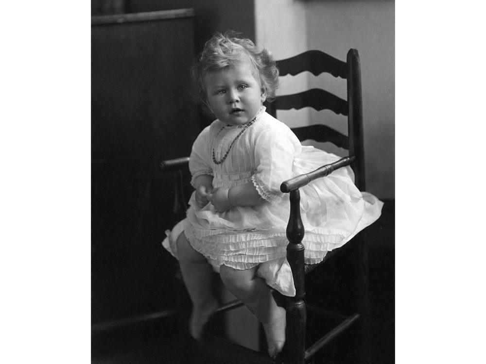 Baby Queen Elizabeth II