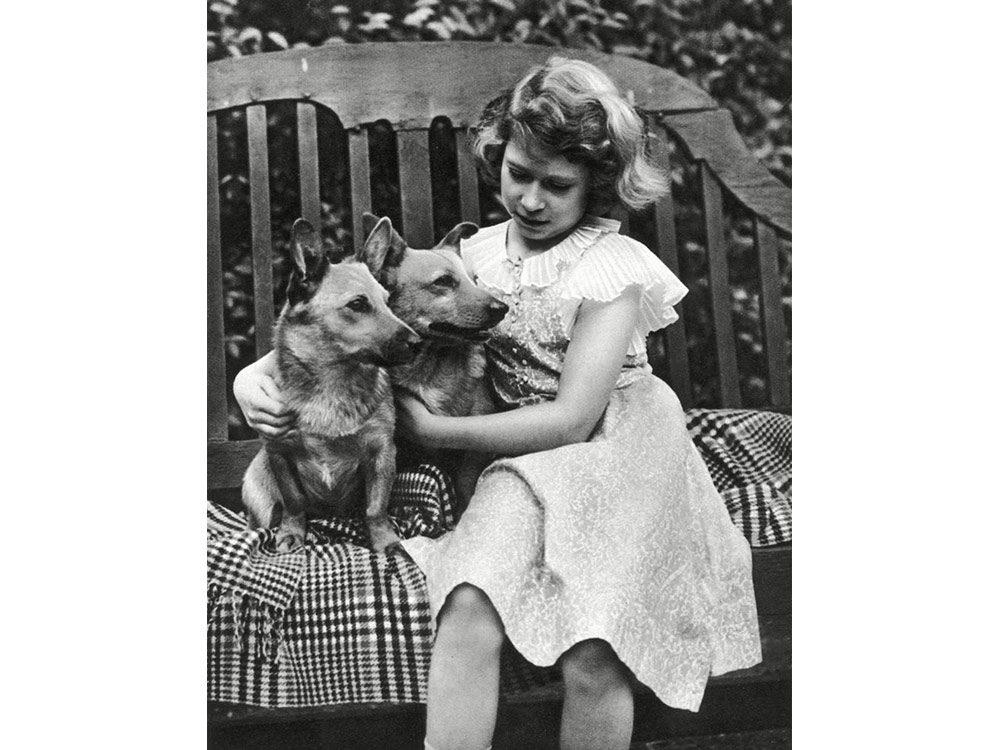 Queen Elizabeth as a child