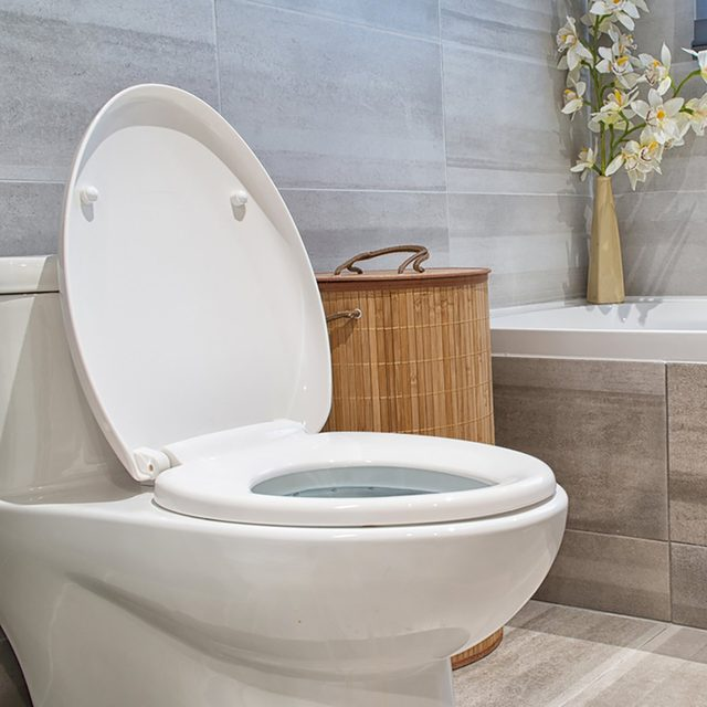Modern bathroom in luxury house; Shutterstock ID 506313262; Job (TFH, TOH, RD, BNB, CWM, CM): TOH