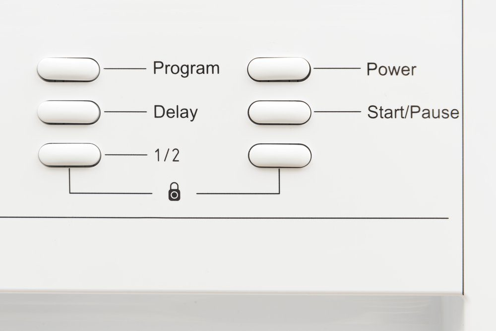 Control panel of a household or kitchen appliance