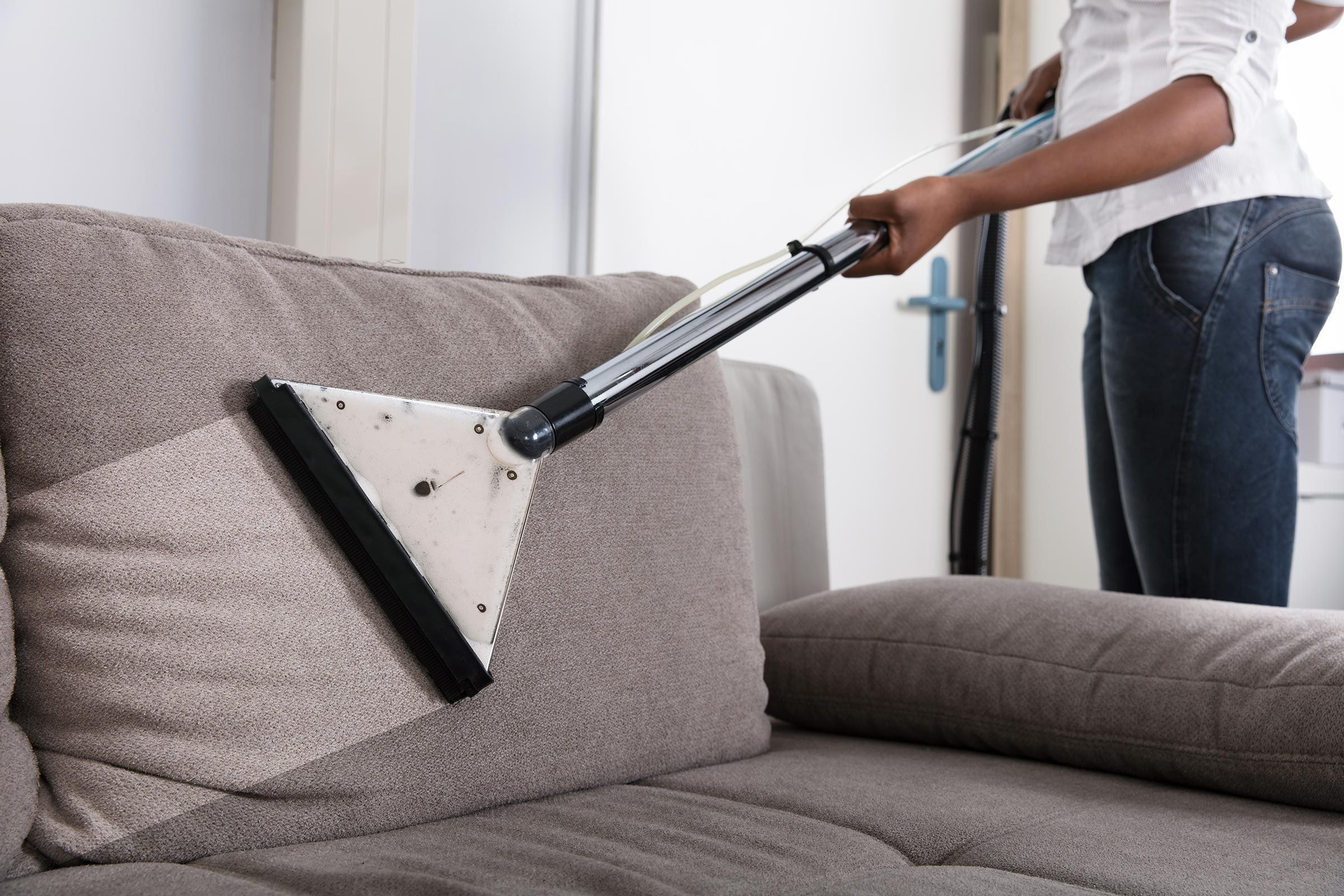 vacuum couch sofa