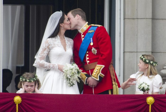 The wedding of Prince William and Catherine Middleton, Buckingham Palace, London, Britain - 29 Apr 2011