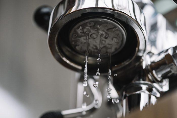 water coffee maker machine