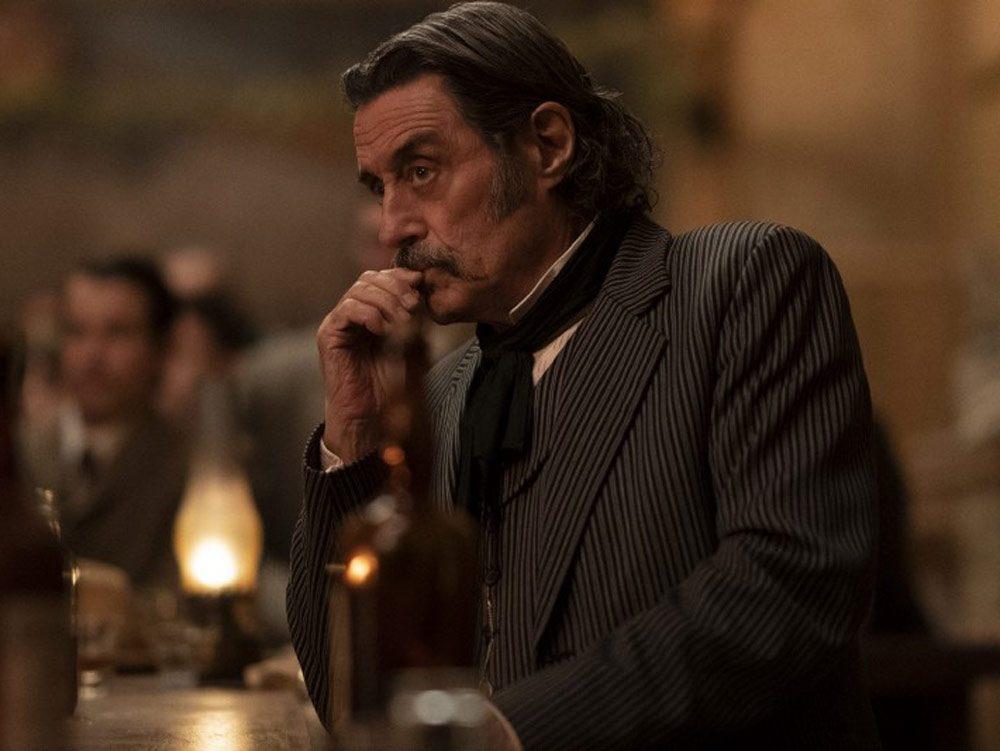 """Ian MacShane in """"Deadwood"""""""
