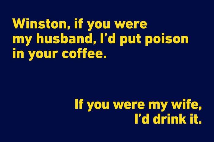 Winston Churchill funny quote