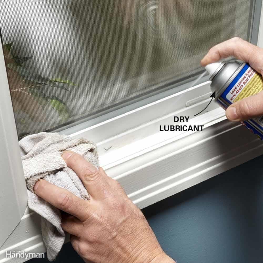 Lube a Sticking Vinyl Window or Door