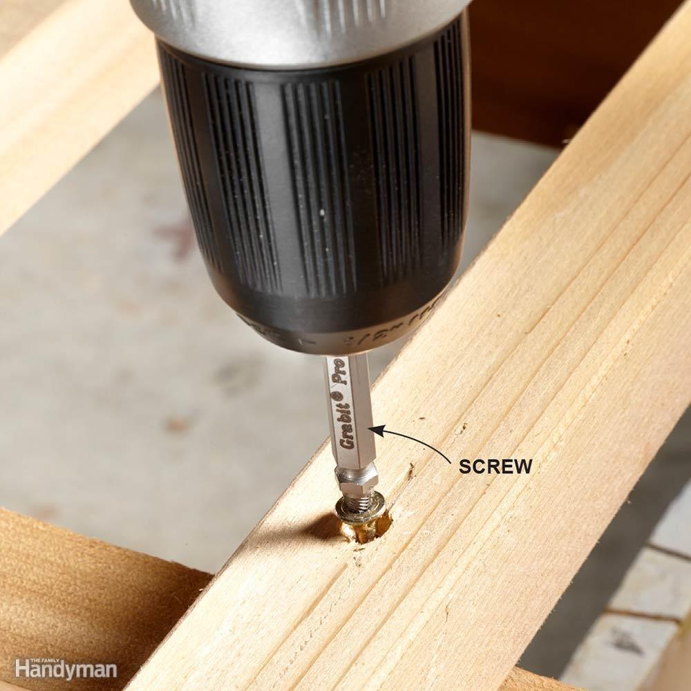 Stripped Screws? No Problem