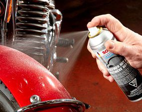 Apply paint sealant to painted areas