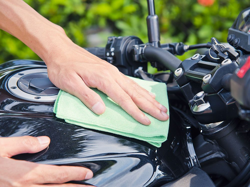 Avoid these motorcycle cleaning mistakes