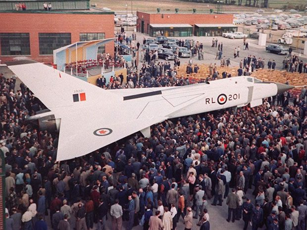 Canadians space exploration - Avro Arrow cancellation