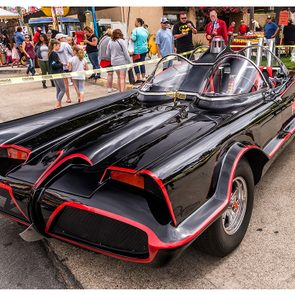 Celebrity cars at auction - original Batmobile