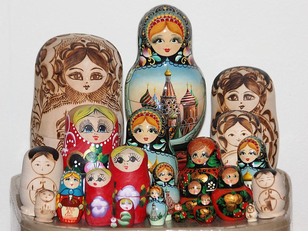 Canadian collections - Matryoshka dolls