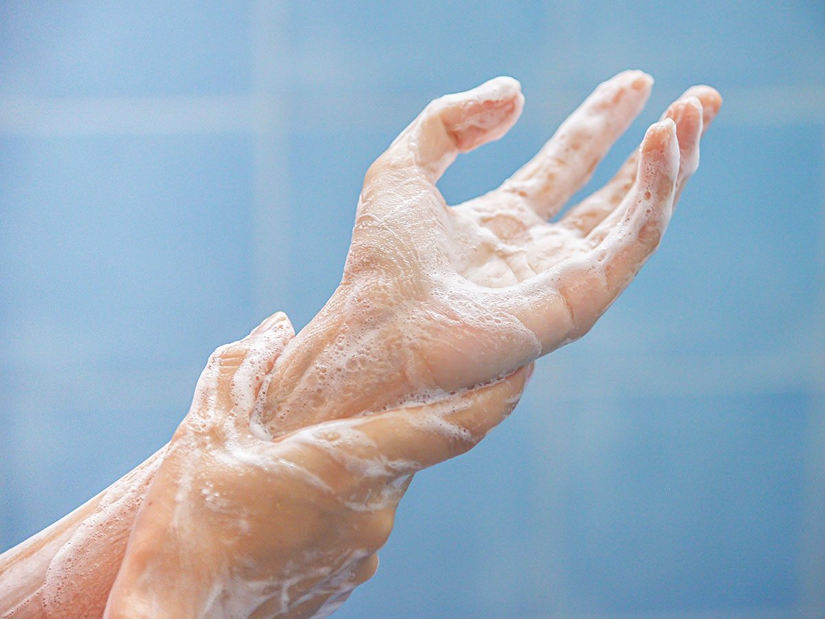 Diseases you can prevent just by washing your hands - Close-up of soapy hands