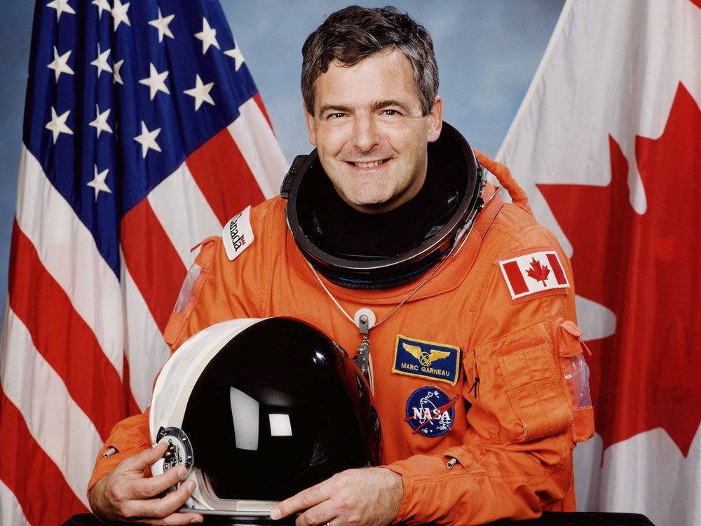 First Canadian in space astronaut Marc Garneau