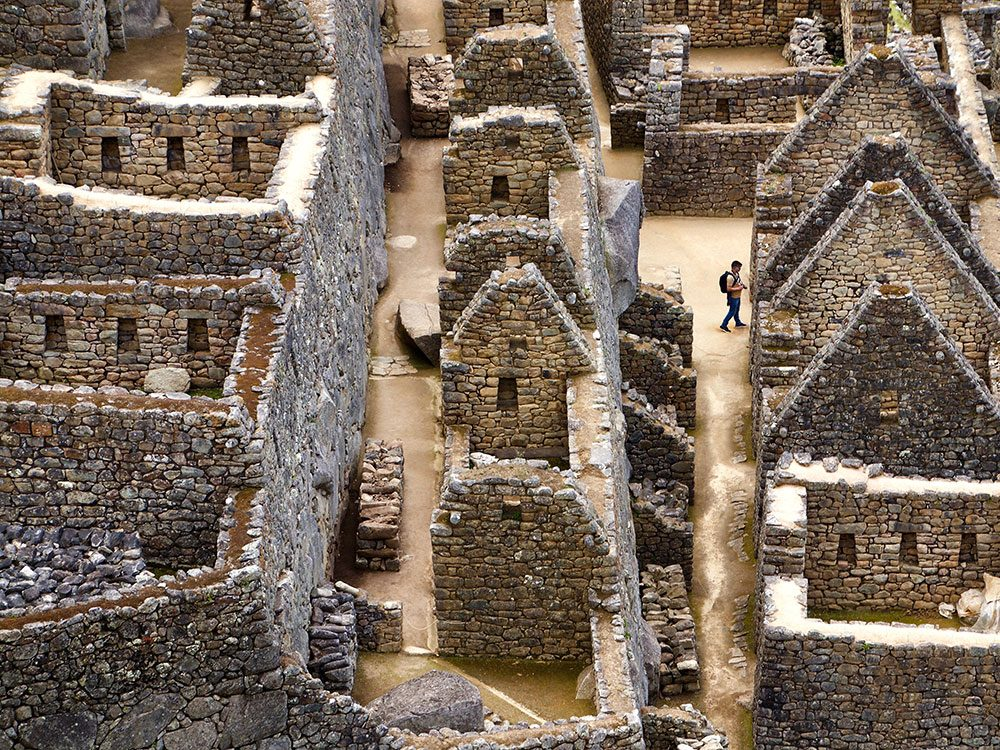 Machu Picchu facts - citadel never completed