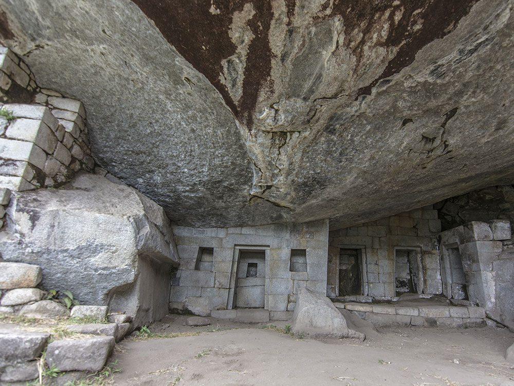 Machu Picchu facts - Temple of the Moon, Huayna Picchu