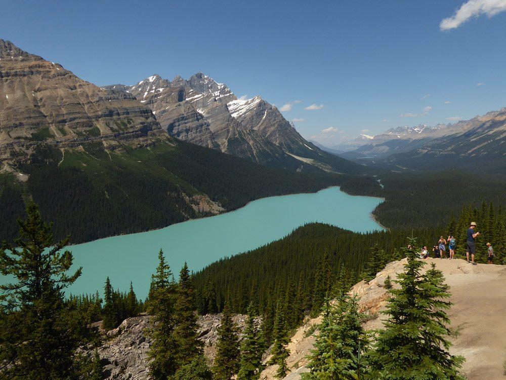 Peyto Lake, Alberta
