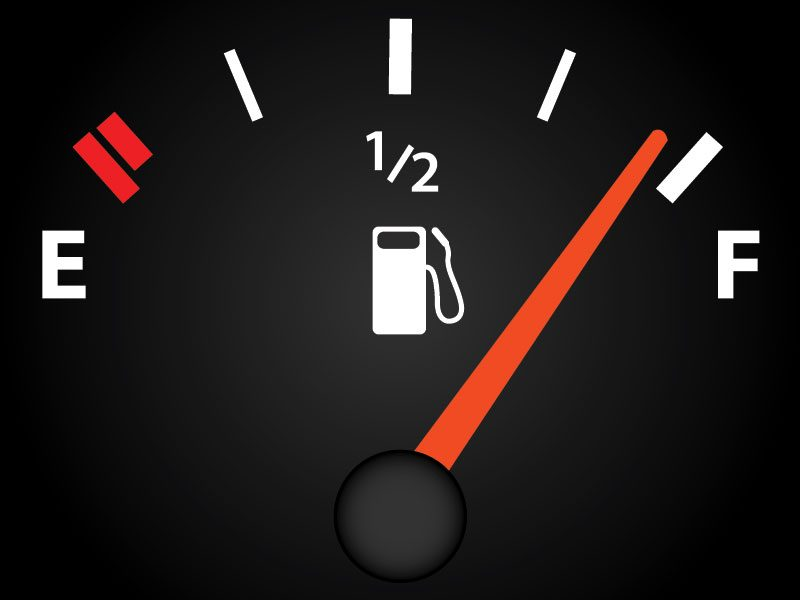 Old gas in tank