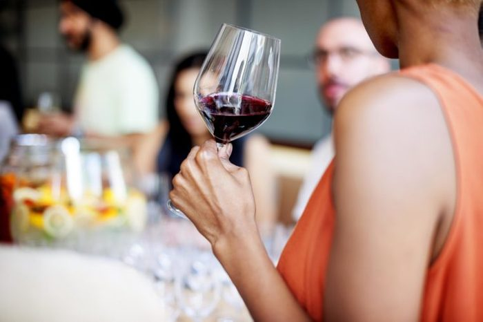 Wine Casual Fine Dining Drink Concept