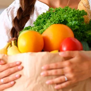 How long does produce last - bag of groceries filled with fruits and vegetables