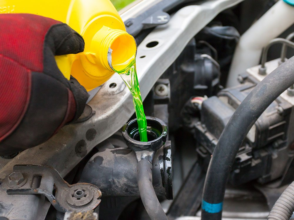 Things you should never do to your car - Use the wrong coolant
