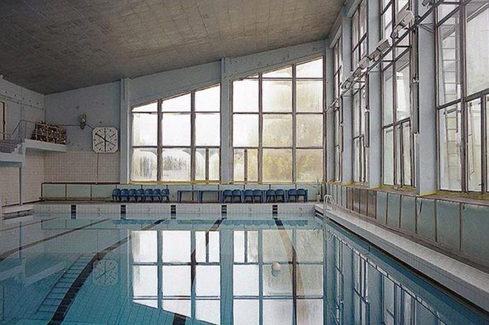 swimming pool Chernobyl